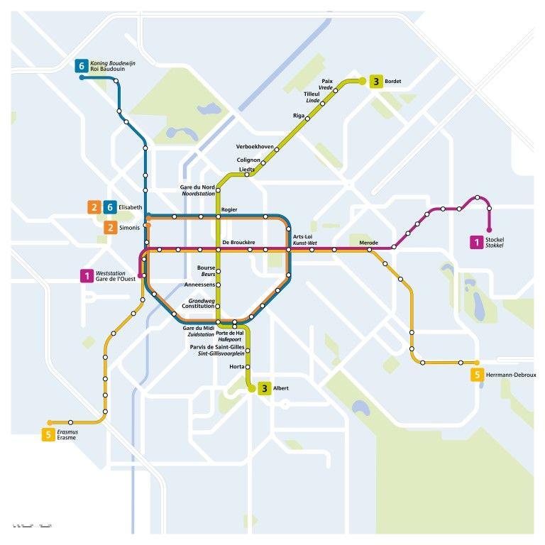 Uitbreiding Brusselse Metro