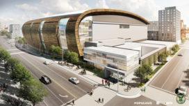 Render Ster van de Week – Arena Milwaukee Bucks door Populous