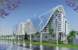 Multifunctioneel complex ontworpen voor Nasr City, Caïro