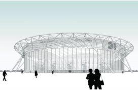 Goedkopere stadions dankzij knip tussen dak en tribune