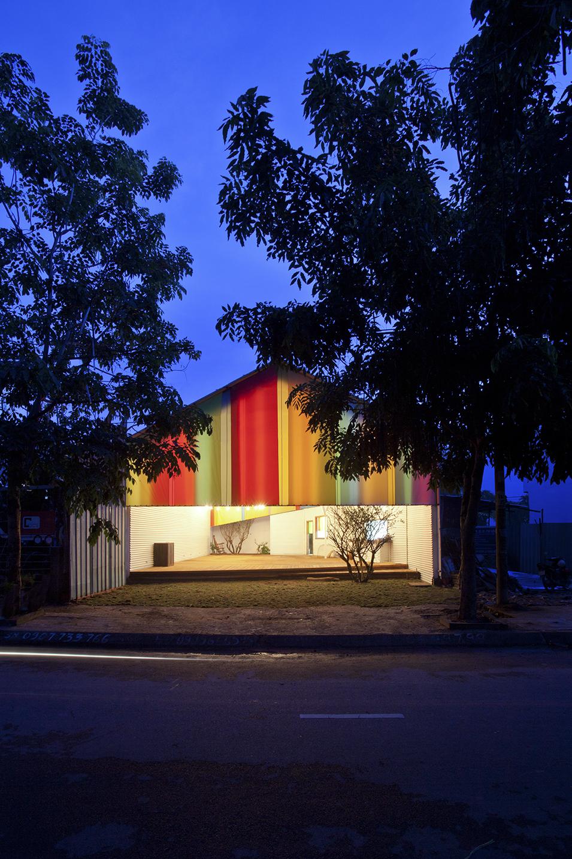 Chapel Vietnam a21 WAF-gebouw van het jaar