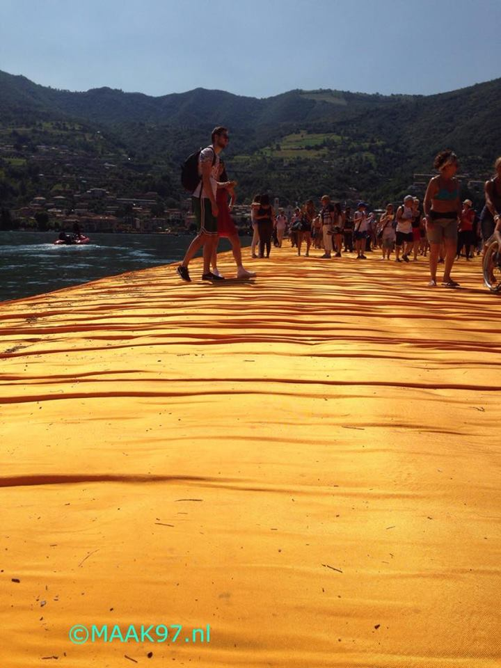 Christo - The Floating Pier
