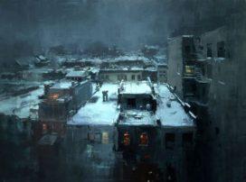 Cityscapes Jeremy Mann beeldblog Jeroen Apers