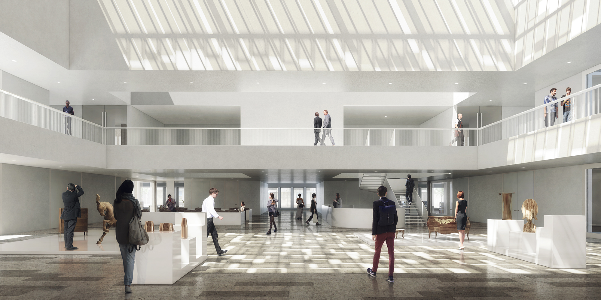 CMA Lille door Kaan architecten en Pranlas-Descours