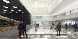 Chambre de Métiers et de l'Artisanat (CMA) in Lille eindelijk gebouwd