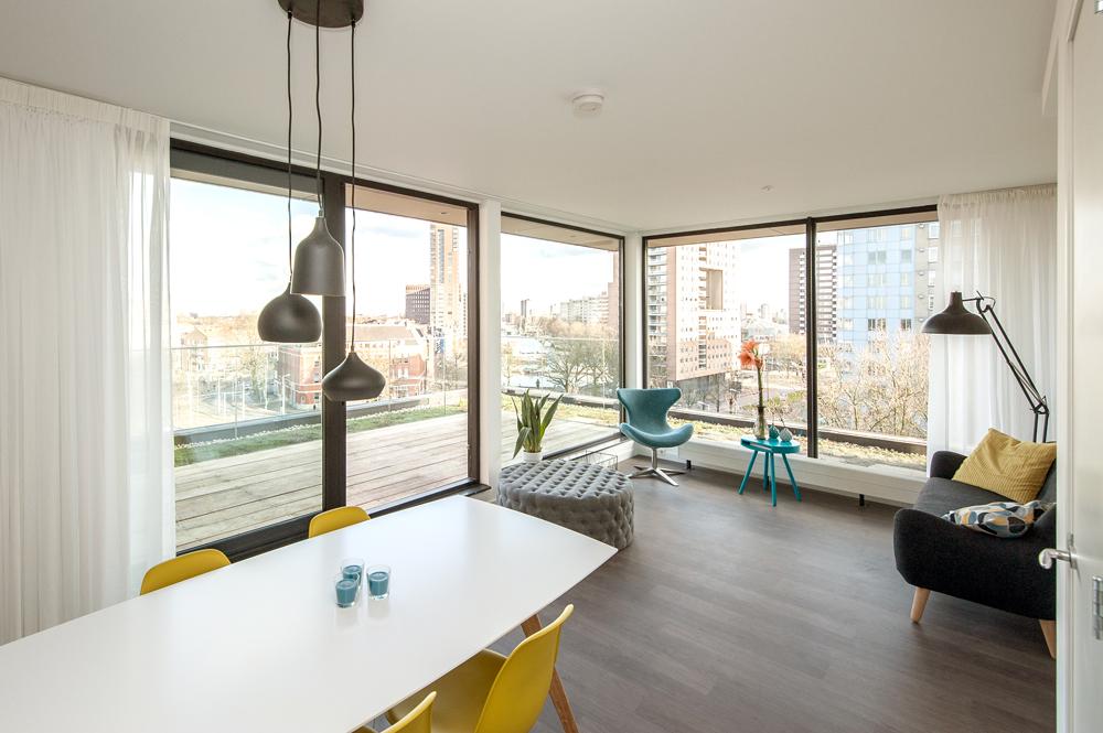 Penthouse in Rotterdam voor de rijkere student