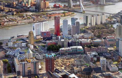 Coolsingel Rotterdam krijgt grootstedelijke allure