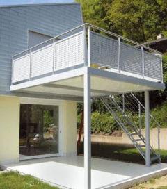 Zelfdragend licht balkonpaneel