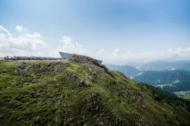 Vakantietip: Bergmuseum MMM Corones in Zuid-Tirol door Zaha Hadid