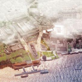 OKRA wint prijsvraag Cutty Sark Gardens in Greenwich