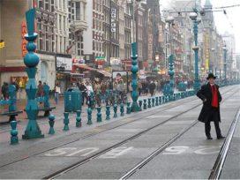 Straatmeubilair Schabracq en Postma verwijderd