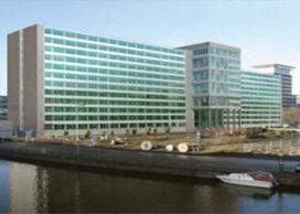 Studentenwoningen in voormalig GAK-kantoor in Amsterdam