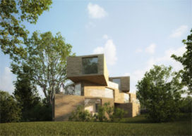 Bosvilla Park Brederode door Hofman Dujardin Architecten