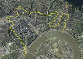Audiotour langs brandgrens Rotterdam