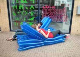 Kamperen bij de buren tijdens Citycamp Castricum