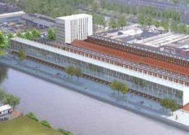 Start bouw Stadswerf in Groningen