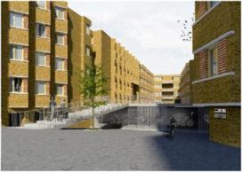 Huiswerk architecten ontwerpt studentenwoningen Gent