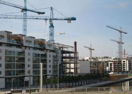 Ierse woningbouw en commerciële bouw volledig ingestort