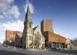 """Downing Zendmast in Leeds """"beste hoogste gebouw"""""""