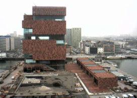 B-architecten verzorgt inrichting MAS Antwerpen