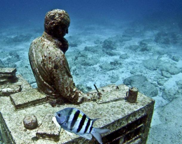 Onderwatermuseum Mexico