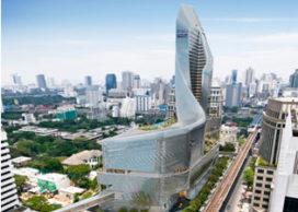 Commercieel gebouw Bangkok