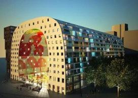 Bouw gestart Rotterdamse markthal