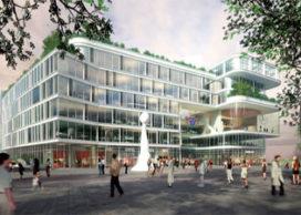 Meyer en Van Schooten winnende architect Stadhuis Almelo