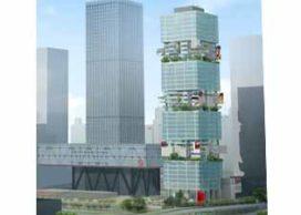 SFB Tower in Shenzhen krijgt deels begroeide gevel