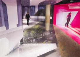 Imaginaire paviljoens UNStudio/Ben van Berkel in Harvard