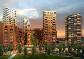 Begin bouw Waterlandplein in Amsterdam Noord