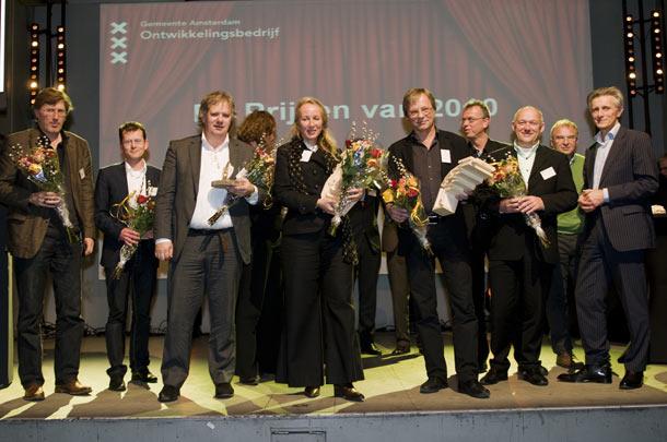 De winnaars Zuiderkerkprijs 2010