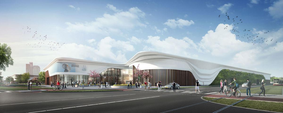 Leidschenhage-Renovatie_Winkelcentrum - MVSA Architects