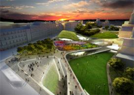 Nieuw stadscentrum voor Aberdeen