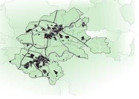 Nijmegen en Arnhem als een stedelijke zone