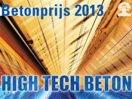 Betonprijs 2013 geopend