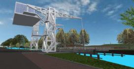 Begroetingsbrug Tilburg medio juni open