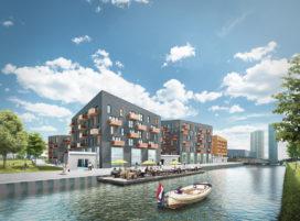 Appartementencomplex Carboon Groningen in de maak