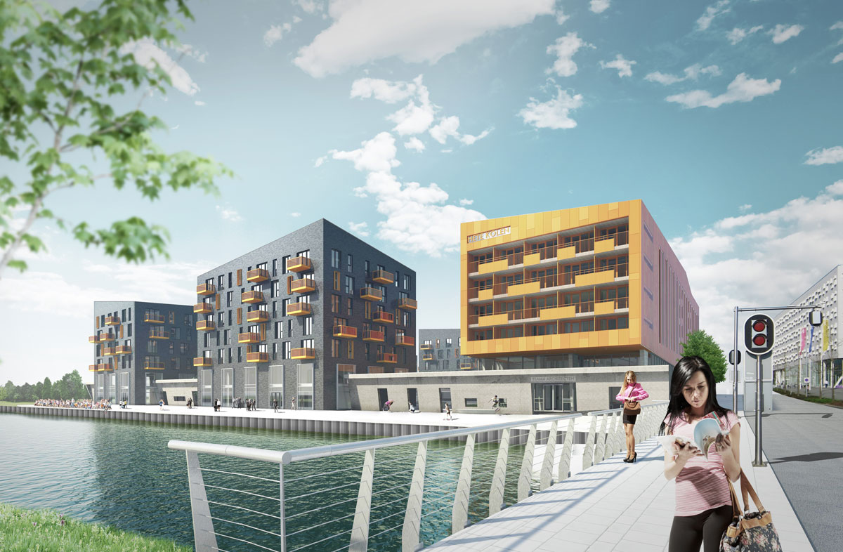 Carboon Appartementencomplex Europapark Groningen