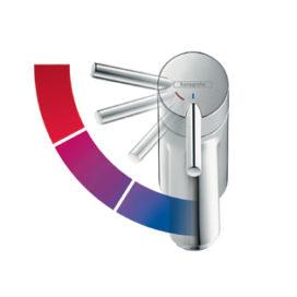 Nieuw: CoolStart technologie van Hansgrohe – Energie besparen door koud water bij de greep in de middenpositie