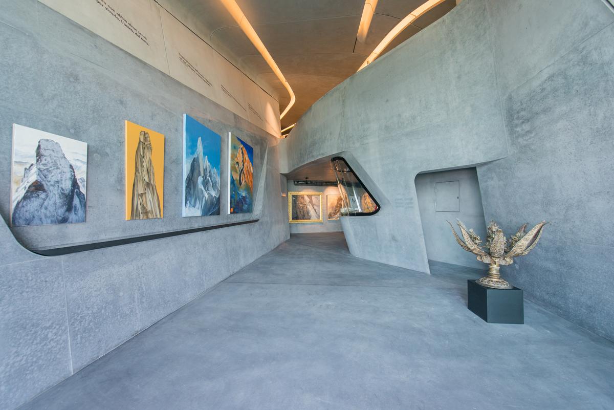 Corones Museum Italie door Zaha Hadid