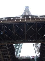'Tijdelijke' Eiffeltoren bepaalt beeld Parijs