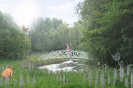 Engels Werkje in Park Zestienhoven in ere hersteld