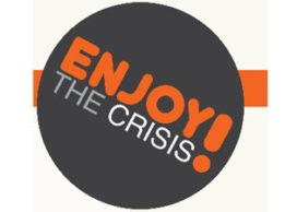 Agendatip: 3 mei, Enjoy the Crisis!