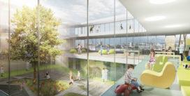 Veel groen èn uitzicht voor Kinderziekenhuis Lausanne