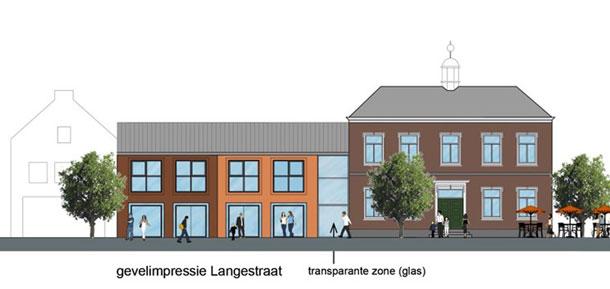 Plannen gemeentehuis Gravenzande