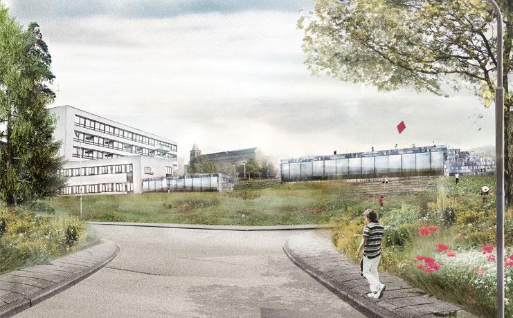 Kettinghuls wint beslotenprijsvraag Atriumterrein Kerkrade