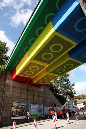 LegoBrug_Wuppertal. Blog Lego in Architectuur door Astrid de Wilde