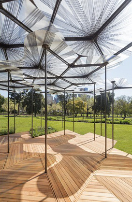 Levete paviljoen Melbourne Australie
