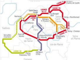 Drie Parijse metrostations van de hand van Benthem Crouwel